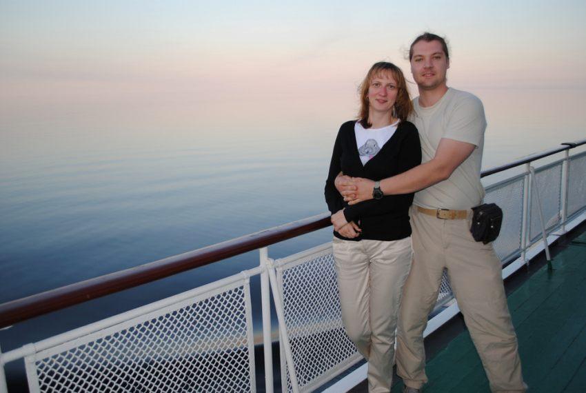 Плывем на Валаам, июнь 2009 г