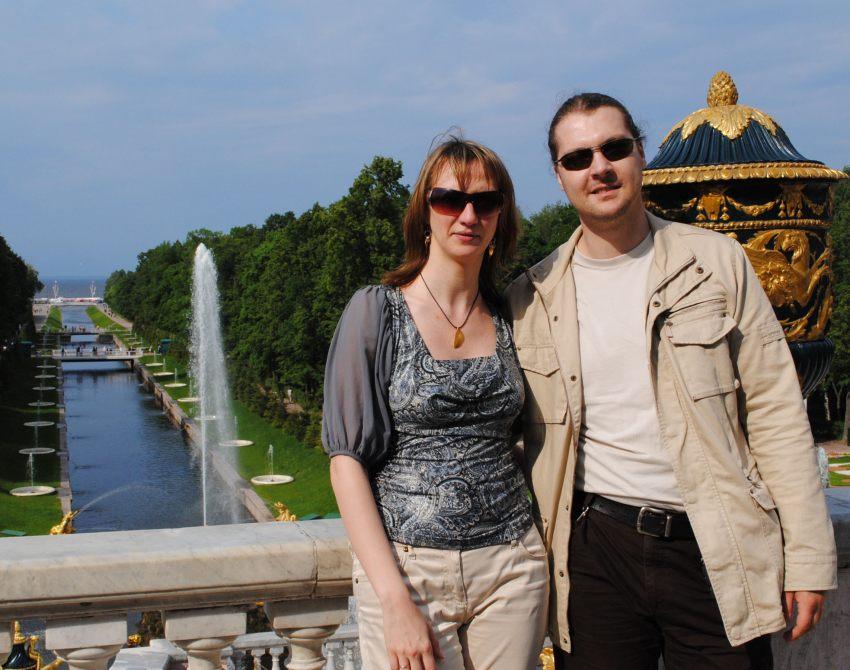 Петергоф, лето 2010