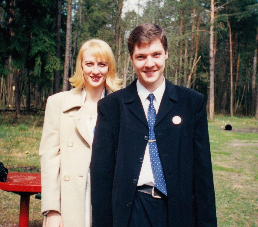 Тверь, апрель 2001, на свадьбе у брата.