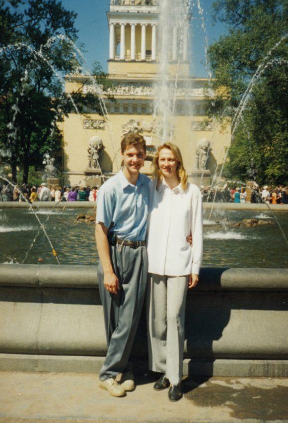 Питер, июль 1999г